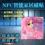 NFC智能家居磁贴,水晶滴胶磁贴,NFC智能支付,NFC智能会员,深圳工厂出货,NFC滴胶标签,