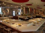 新疆旋转餐厅厂家无烟烧烤车回转寿司旋转台火锅旋转自动设备
