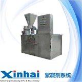 供应稳定添加絮凝剂粉末的絮凝剂系统