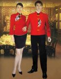 盐城酒店服,酒店服务员服装,职业装,厂家定做