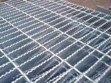 齿形异形踏步钢格网/平台网格栅板热浸锌