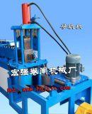特供全自动导轨导槽金属压型机自动定长剪切卷帘门滑道成型机