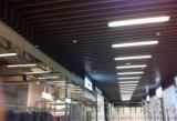 重庆樱桃木木纹铝方通吊顶厂家,木纹铝方通吊顶价格