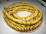 厂家直销PU/PUR螺旋线弹簧线机械设备螺旋电线 品质保证量大从优