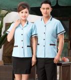 保潔服夏裝短袖 清潔工客房服務員服裝 酒店保潔員女PA工作服