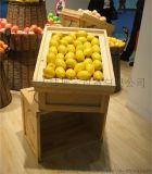 大沣货架-DF-170专卖店货架展柜水果木货架展示设备进口商品食品木货架