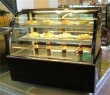 徽点  单弧形后开门蛋糕柜,蛋糕保鲜柜厂家直销,尺寸可定做