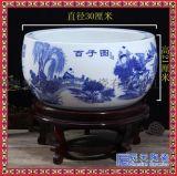 陶瓷乌龟鱼缸聚宝盆摆件 家居装饰工艺品招财风水缸