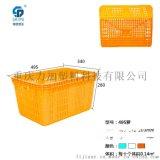 重庆塑料厂家供应  水果周转筐600*210