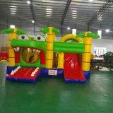 厂家直销新款鳄鱼充气跳床滑梯儿童乐园淘气堡运动户外