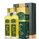 绿达纯野生山茶油750mlx2礼盒装 低温物理压榨