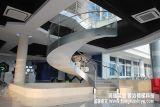 适合办公楼 会所的钢结构旋转楼梯