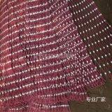 包塑包胶钢丝绳卡扣装饰网河北安平富然不锈钢丝绳网厂制造