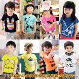 湖南衡陽哪裏批發新款童裝短袖兒童外貿童裝便宜批發