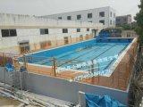 厂家直销 整体游泳池 钢结构游泳池 拆装式游泳池 室内拆装游泳池