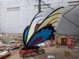 仿真蝴蝶雕塑制作厂家,向雷雕塑,品质之选