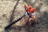 華盛650地鑽便捷手提式植樹機大排量地鑽大馬力挖坑機