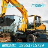 WLY80全液压轮式挖掘机 轮式挖掘机特点