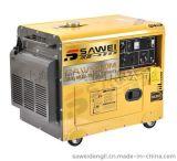5kw小型静音柴油发电机 移动式工地用发电机