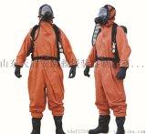 防化服连体轻型防化服 全密封重型防化服 防护服防毒衣服防氨气