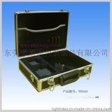 东莞莱迪铝箱厂YY0416手提铝箱配肩带