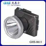 可配矿工钩塑料充电LED大功率头灯 GHS-8611
