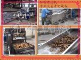 山东根茎蔬菜清洗机厂家  节能高效洗姜专用清洗设备