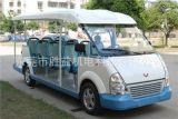 广东14座内燃观光车 汽油观光车图片 五菱威威款燃油车