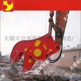 拆迁挖掘机勾机钢筋混凝土液压破碎钳生产厂家