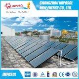 高品质认证厂家批发阳台壁挂平板式太阳能热水器出口