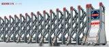 华阴电动伸缩门厂家提供实图,实物参考