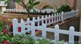 PVC草坪护栏 塑钢花池围栏 草坪栅栏 花坛隔离网
