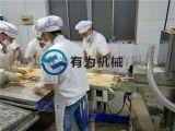 外贸食品厂用肉类裹粉机 ,鸡柳条裹粉机