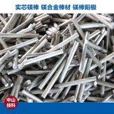 技科镁AZ31B优质实芯镁合金棒 镁合金棒材 镁挤压棒 重力挤压镁棒