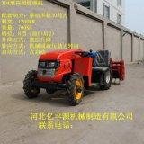 超低矮四驱多功能果园管理机小型农用四轮拖拉机大棚王