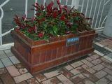 深圳东莞惠州小区道路木质花箱,厂家直销欢迎前来订购
