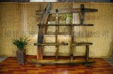 厂家直销 老船木古船木博古架置物架 复古中式实木博古架置物架