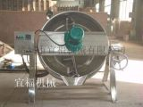 PFT-600-不锈钢燃气豆浆煮锅夹层锅