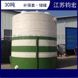 30吨PE水箱  钧宏30立方PE储罐