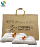 廠家定做蘭花草健康睡眠枕無紡布防塵包裝袋款式新穎結實耐用