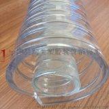 食品级pu钢丝平滑管输送食用油透明软管pu包裹304不锈钢输送软管
