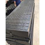 平口道橡膠道口板廠家P50鐵路鋪路橡膠道口板
