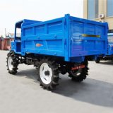 农用四驱柴油运输型拖拉机 四驱水田粮食转运车