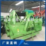 圣泰牌ST1650型秸秆回收机 拖拉机带动秸秆粉碎打捆机