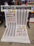 賽圖1.2米自動巡邊刻繪一體機刻字機
