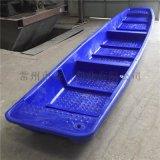 森科6米塑料船 6米双层塑料渔船 另有2米3米4米小渔船河道清理船