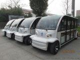 傲威14座景区电动观光车,房产公司接待车,扬州杭州景区游览车