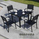 武汉咖啡厅户外桌椅 户外园林桌椅 高档实木桌椅