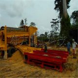 淘金设备,选沙金机械,移动式淘金机械,河沙淘金车