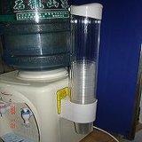饮水机pc纸杯架